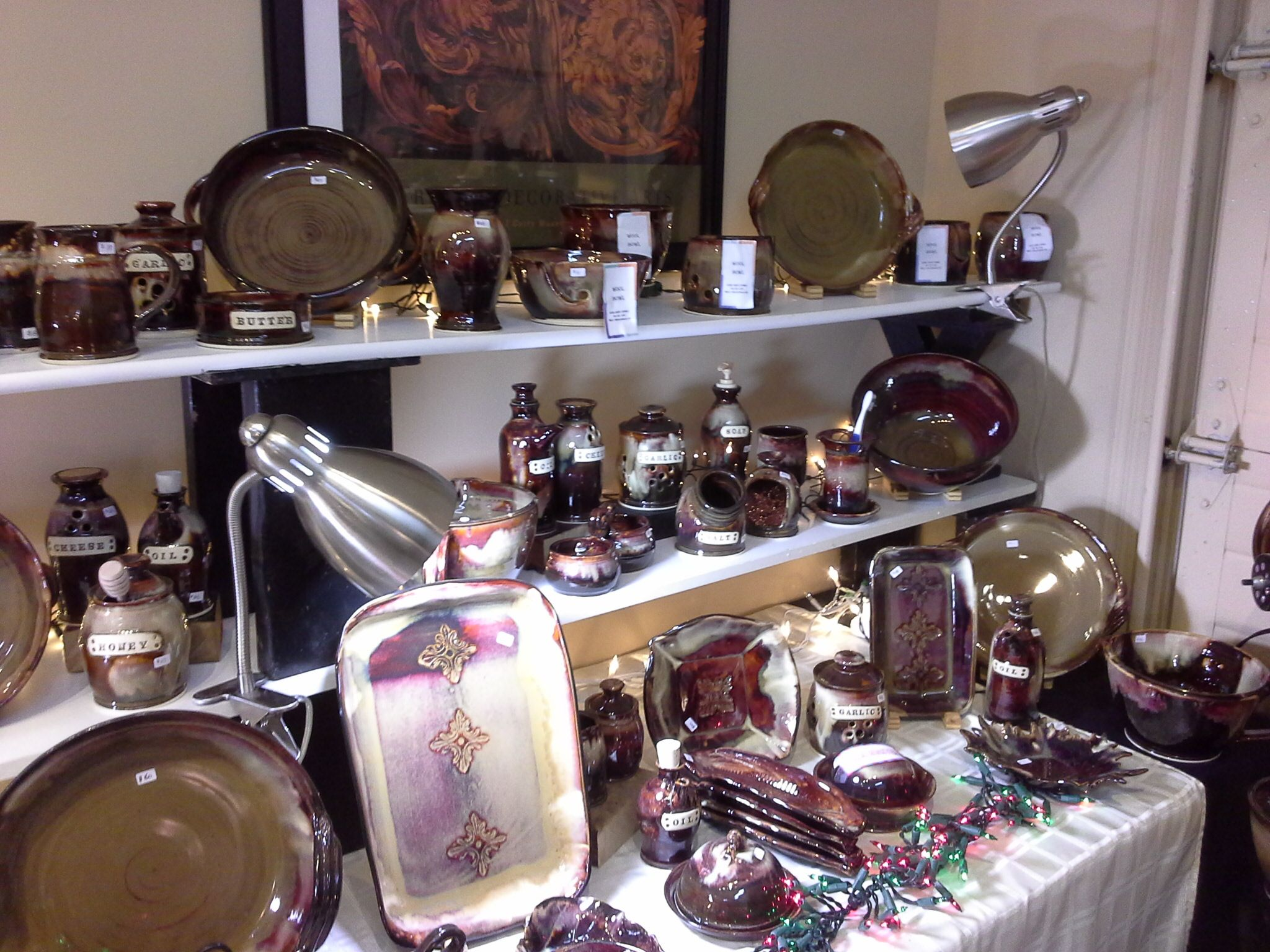 Doing Earth Pottery Gallery Yarrow BC