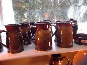 Pottery Mugs by Doing Earth Pottery