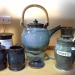 Blue Tea Pot
