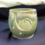 A nice example of our Green Yarn Bowl