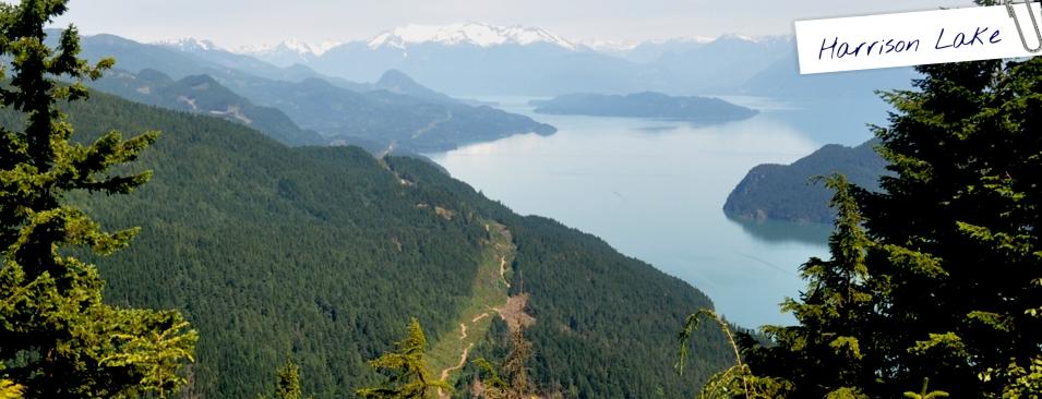 Harrison Lake British Columbia Canada