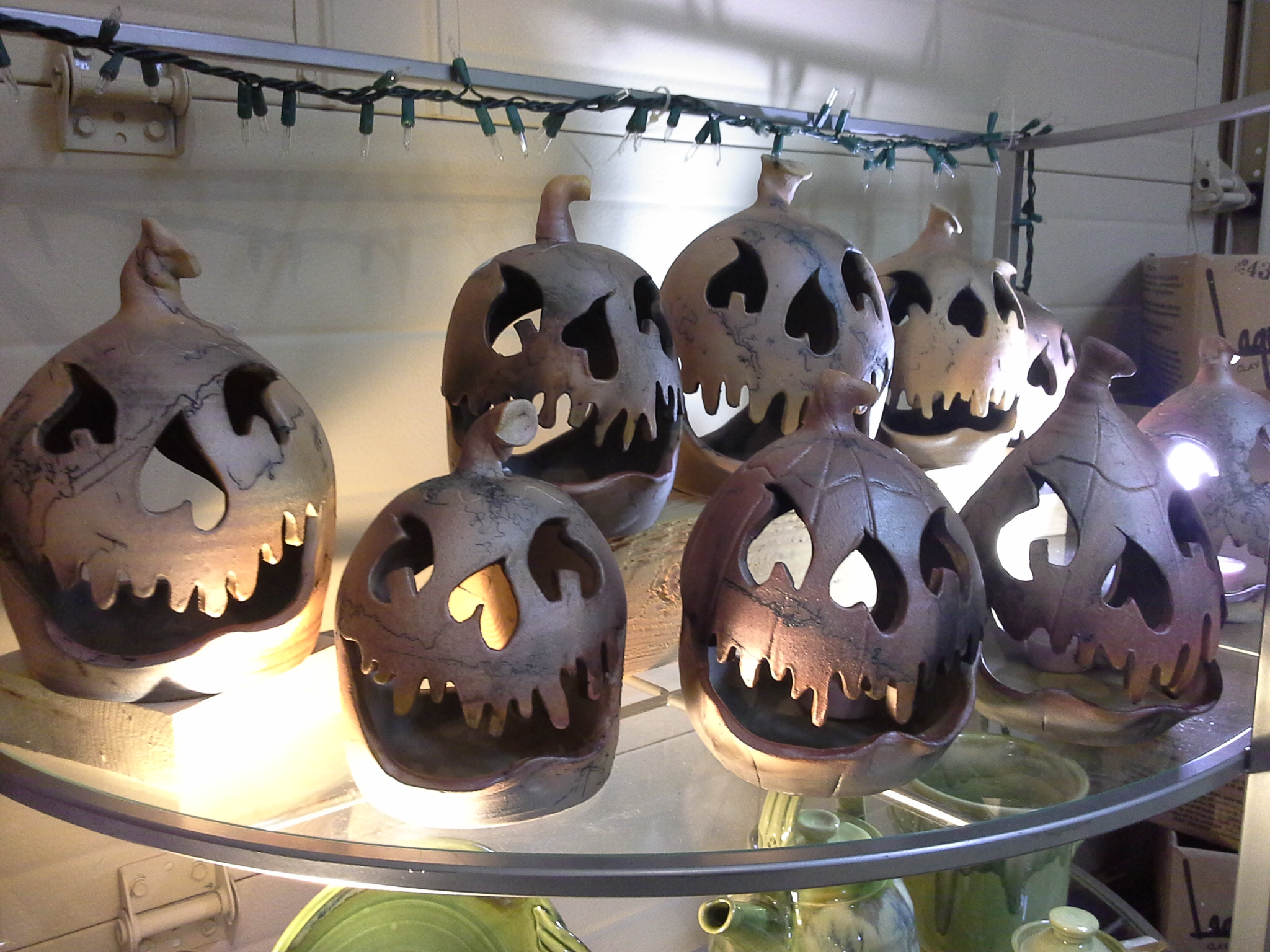 Handcrafted Halloween for Home decor from Doning Earth Pottery