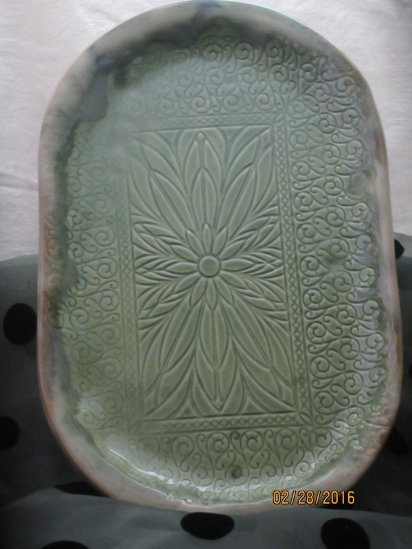 Handcrafted and locally made Serving platters from Doing Earth Pottery