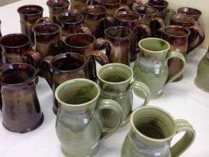 Handmade Pottery Mugs from Doing Earth Pottery