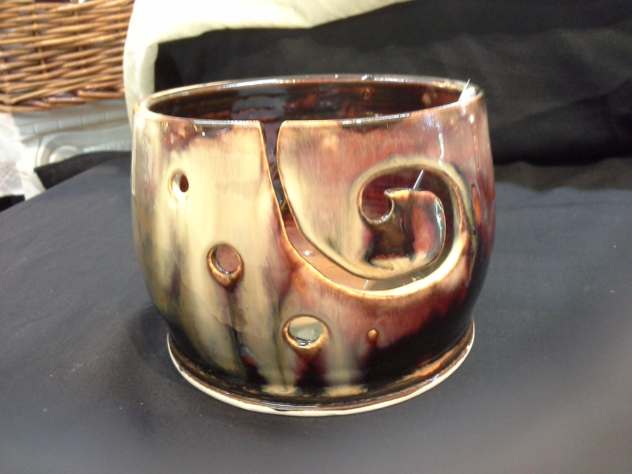 Yarn Bowl /Wool Bowl Doing Earth Pottery